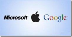 گوگل،-مایکروسافت-و-اپل